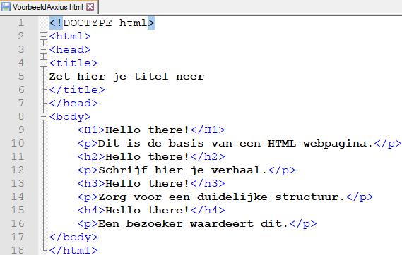HTML_voorbeeld_3