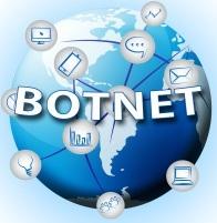 Een botnet wereldwijd